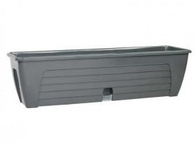 Балконный ящик  LIDO  600мм. Антрацит (Santino)