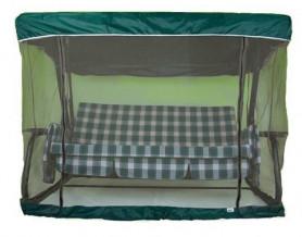 Чехол с москитной сеткой для качелей Мастак премиум, Турин зеленый  арт.Ч544-МТ001