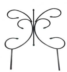 Секция забора метал. Бабочка Малый (выс.0,75м.,дл.0,5м.)