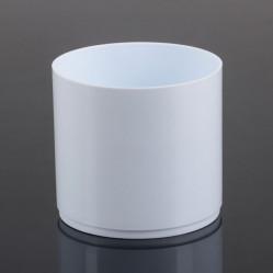 Кактусник Тренд 0,88л белый (Serinova)