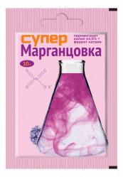 Марганцовка Супер (перманганат калия) (пак.10гр.) ВХ