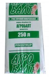 Торф верховой кислый Агробалт-В  250л. (0-20, pH 3,5-4,5, зелен.)