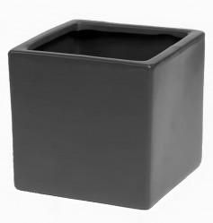 Кашпо лофт 0,55л(антрацит)  Сады Аурики