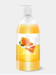 Крем-мыло MILANA Молоко и Мед 1л. с дозатором (126101)