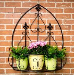 Подставка настенная садовая 15-803