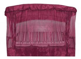 Чехол с москитной сеткой для качелей Мастак премиум, Турин бордовый  арт.Ч544-МТ003