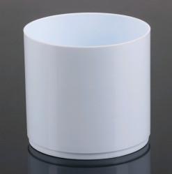 Кактусник Тренд 0,45л белый (Serinova)