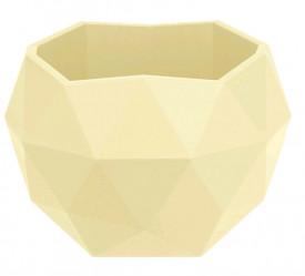 Кашпо Топаз 0,45л карамельный (КШ-9155)